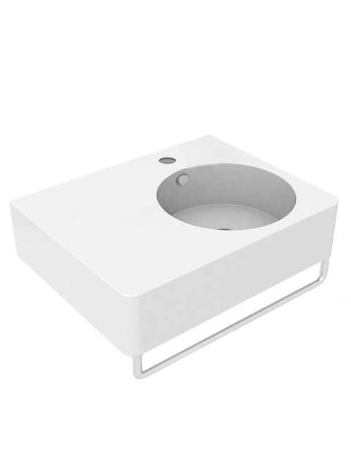 Cifial BLOCK Right Hand Basin 610mm
