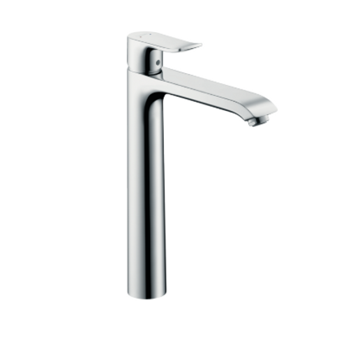 Hansgrohe Metris Single lever basin mixer 260 for wash bowls with pop-up waste