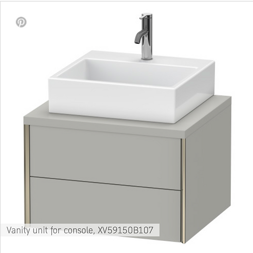 XViu Vanity unit for console 600mm x 548mm
