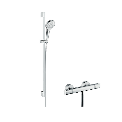 Hansgrohe Croma Select S Shower system 110 Vario with Ecostat Comfort thermostat