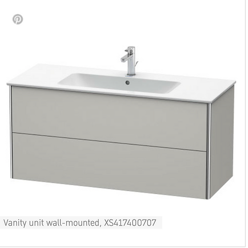 XSquare Vanity unit wall-mounted 1210 x 478 mm