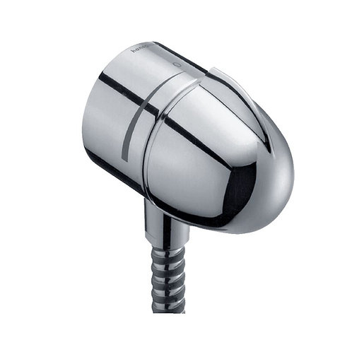 Hansgrohe FixFit Wall outlet E stop with non-return valve and shut-off valve