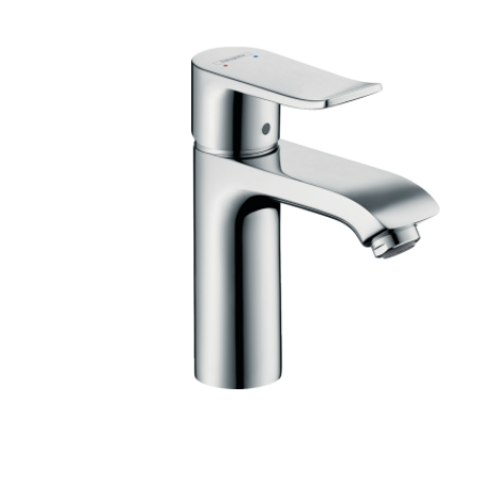 Hansgroe Metris Single lever basin mixer 110 LowFlow 3.5 l/m with pop-up waste