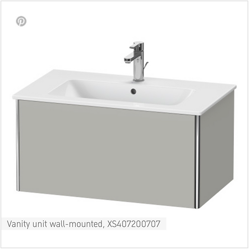 XSquare Vanity unit wall-mounted 810 x 478 mm