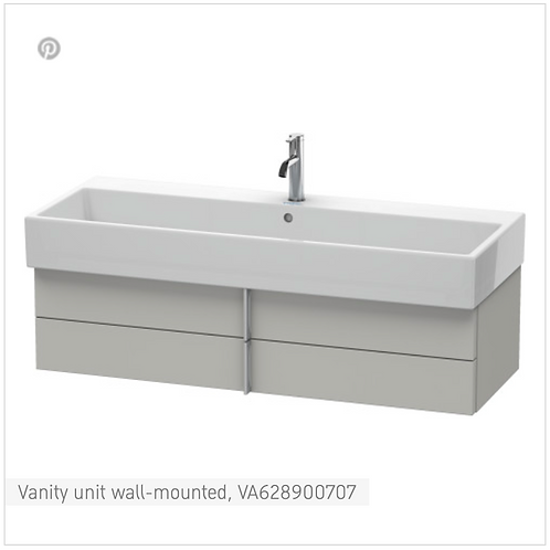 Vero Air Vanity unit wall-mounted 1184mm x 431mm