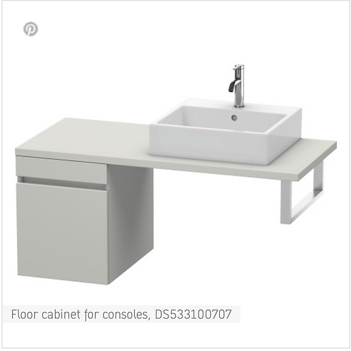 DuraStyle Floor cabinet for consoles 400mm x 548mm