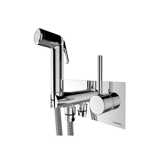 Cifial Mini Round Thermostatic Techno Douche