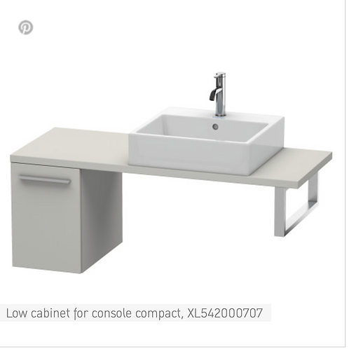 Duravit X-Large Low Cabinet For Console Compact 300mm x 478mm