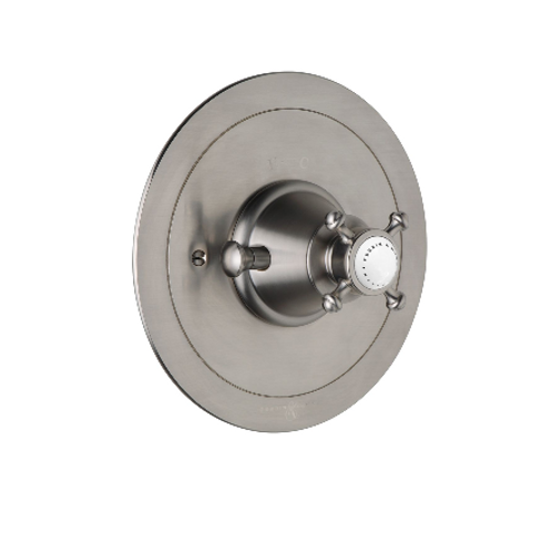 Perrin & Rowe Georgian Concealed Thermostatic Shower Mixer with Crosstop Handle