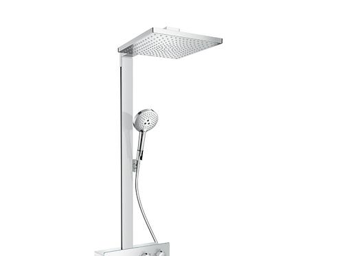 Hansgrohe Raindance E Showerpipe 300 1jet with ShowerTablet 350