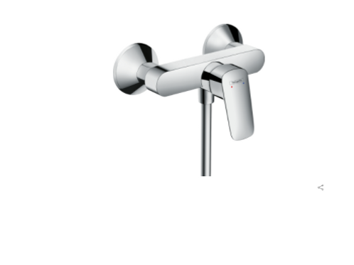 Hansgrohe Logis Single lever manual shower mixer for exposed installation