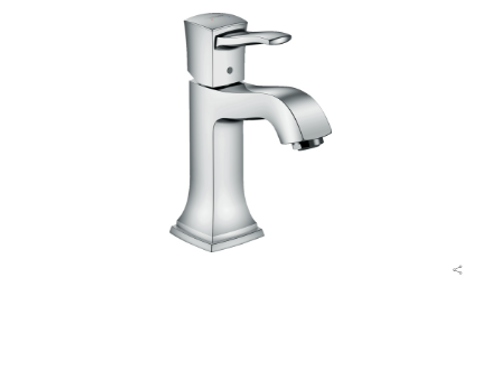 Hansgrohe Metropol Classic Single lever basin mixer 110 with lever handle and po