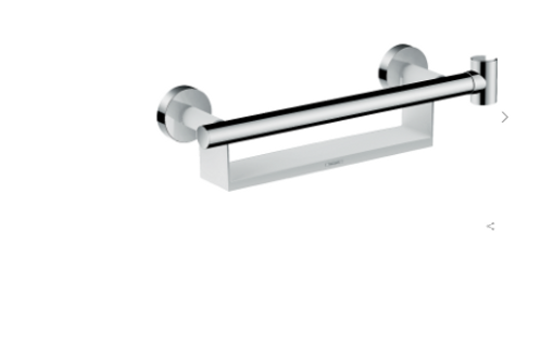 Hansgrohe Unica Grab rail Comfort with shelf and shower holder