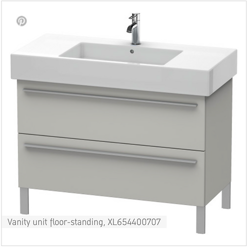 X-Large Vanity unit floor-standing 1000 x 470 mm