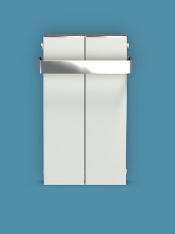 Bisque Blok 590mm x 327mm Towel Radiators