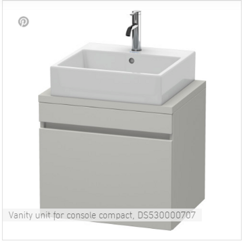 Duravit  DuraStyle Vanity Unit For Console Compact 600mm x 478mm