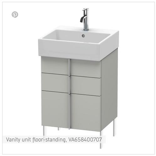 Vero Air Vanity unit floor-standing 484mm x 431mm