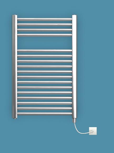 Bisque Deline 786mm x 500mm Towel Rail - Electric