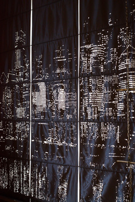 natural linen grommet curtains