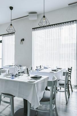 Project: Avli River North Restaurant Interior Design: Gold Coast Design Studio Photo Courtesy of: Stan Estate Photography  Custom made curtains and drapes