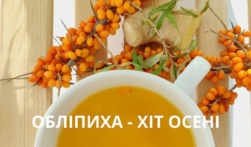 Обліпиха на Ліки природи від Боровика - zborovik.com.ua