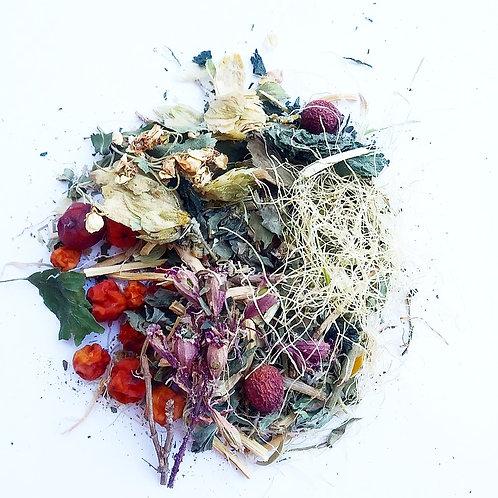 Травяной сбор при бесплодии, для стимуляции работы яичников