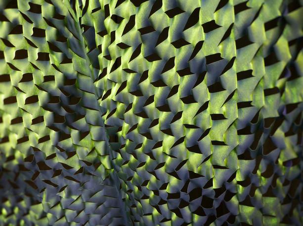 green custom fit curtains