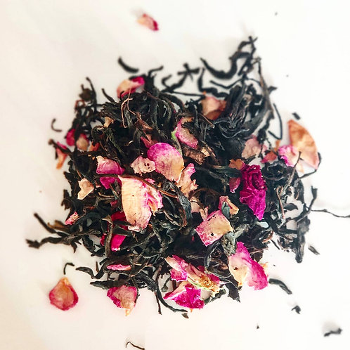 Чай черная роза