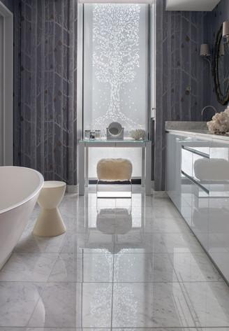 custom white cutains for bathroom