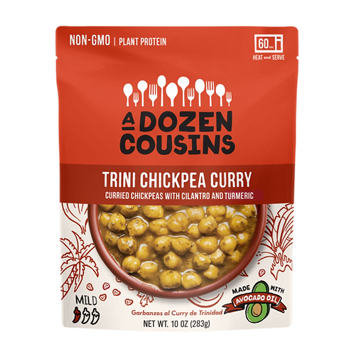 A Dozen Cousins - Trini Chickpea Curry