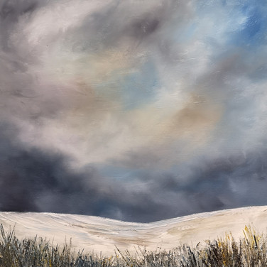 Snowfall, Derbyshire