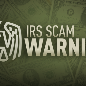 """IRS Releases """"Dirty Dozen"""" List for 2021 and it Includes Pandemic Scams."""