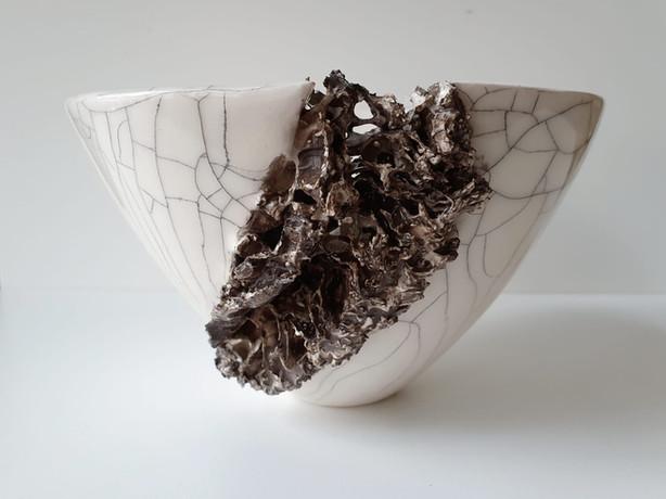 Small Lichen Vessel II