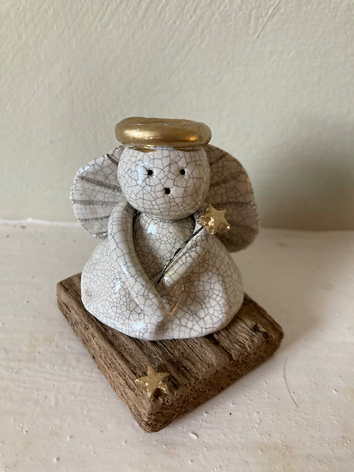 Mounted Angel with Wand