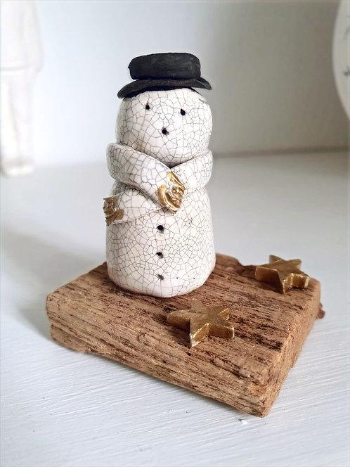 Mounted Snowman