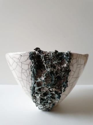 Small Lichen Vessel III