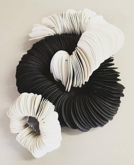 Leaves in Porcelain