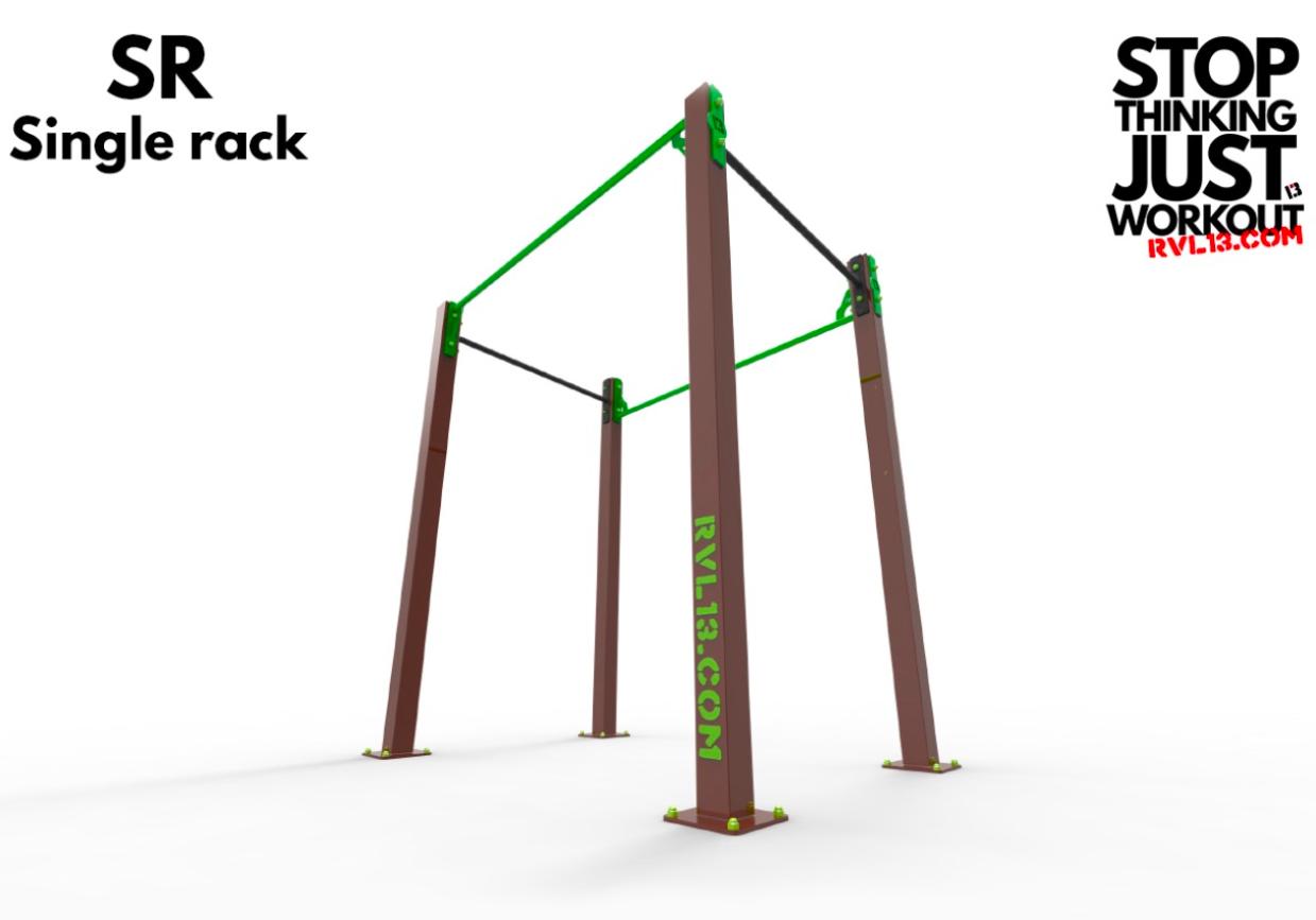 RVL13 Singel Rack