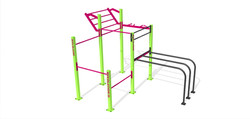 Garden Gym Double Rack DDWM 01