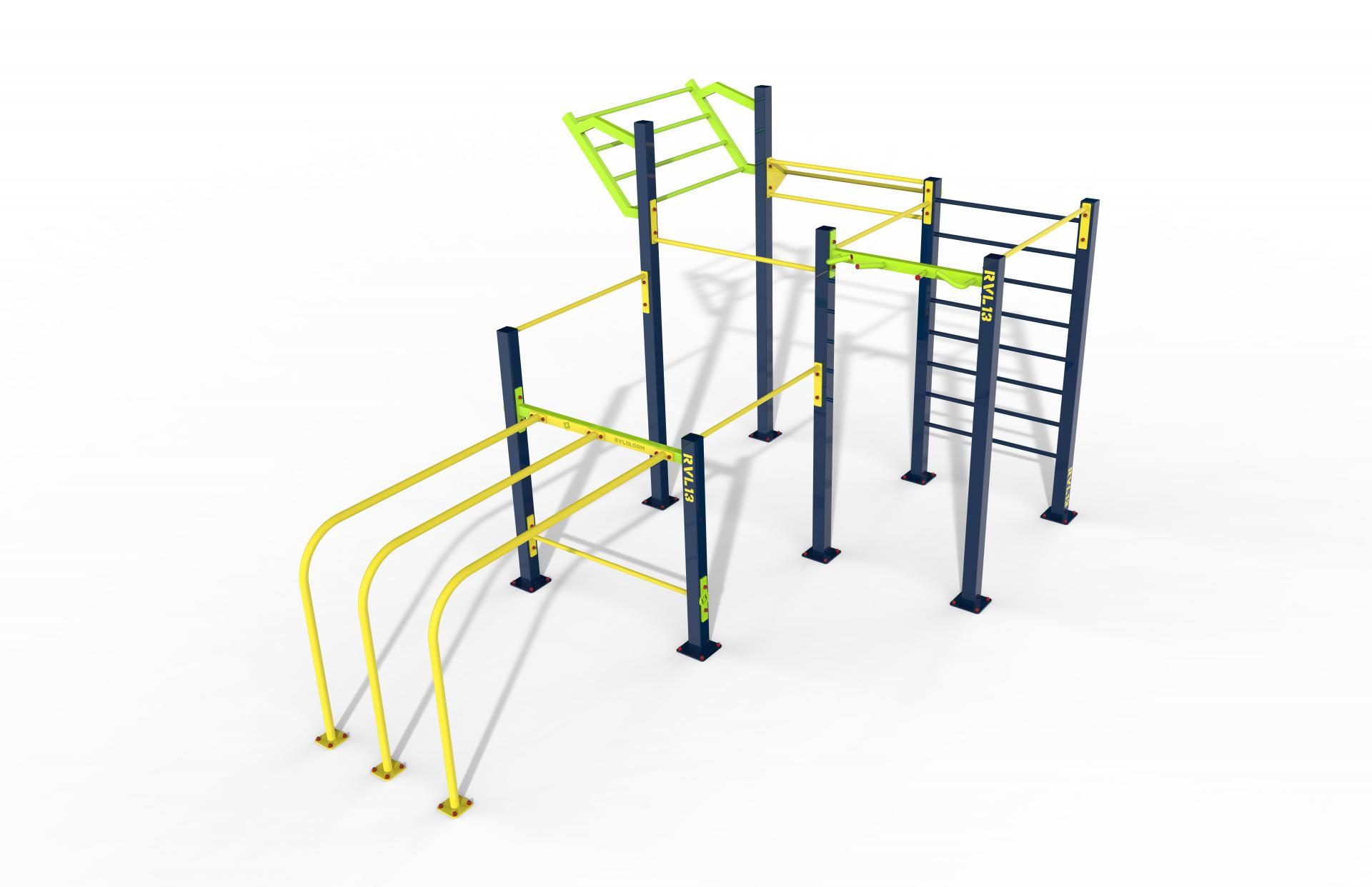 RVL13 Triple Rack
