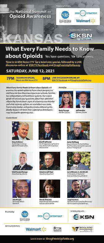 The National Summit on Opiod Awareness.j