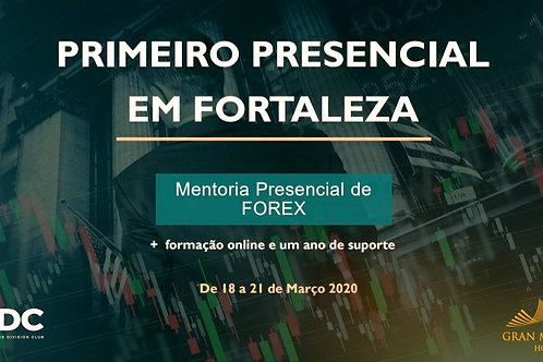 Fortaleza - Brasil - Presencial + Mentoria de 1 Ano