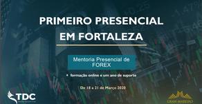 FORTALEZA BRASIL | MENTORIA / MASTER CLASS DE FOREX  - PRESENCIAL 4 DIAS + 1 ANO ONLINE