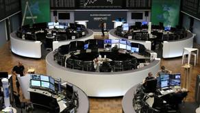 Ações europeias terminam perto das mínimas de 5 meses