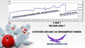 GESTÃO DE UM GRUPO DE INVESTIDORES EM 2020 - 30K A 87%