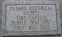 Cudahy Historical Society Time Capsule