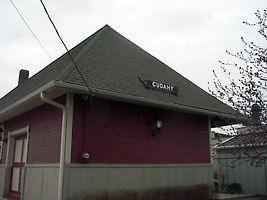 Cudahy Depot Freight Doors