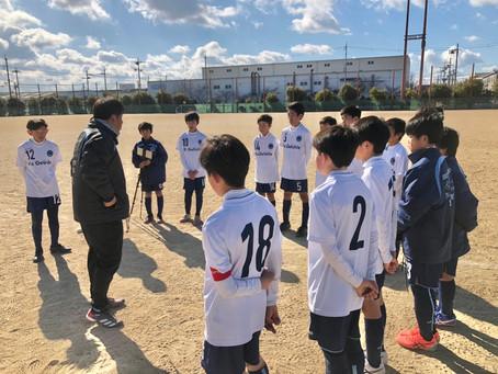1/10(日)フューチャーリーグ U-13(公式戦)