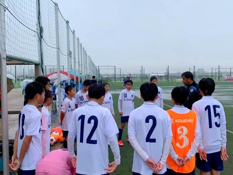 4/17 クラブユース選手権U15 vs 門真沖SC