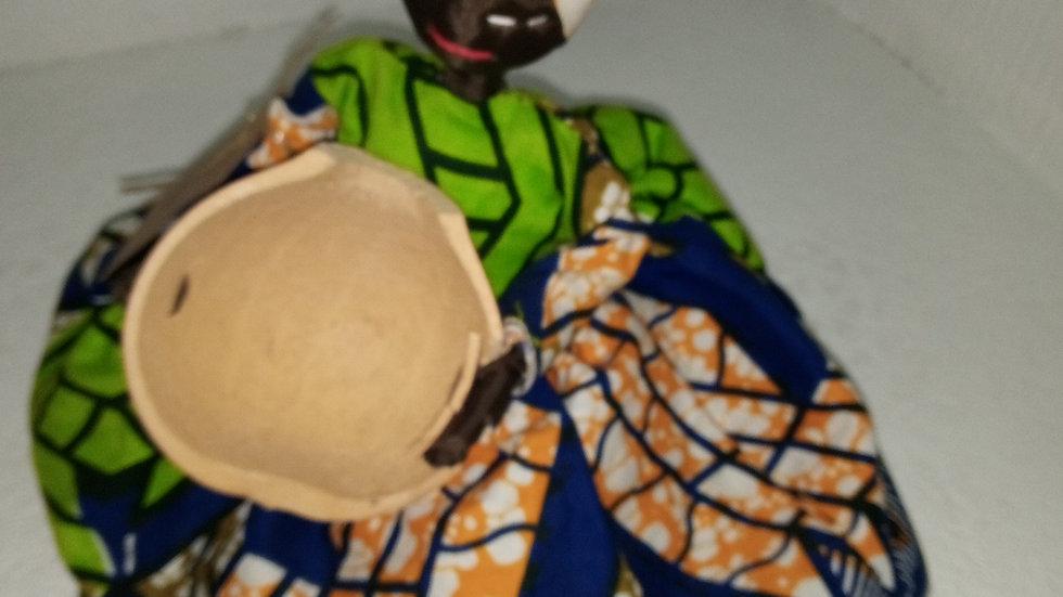 La poupée décorative made In Rca